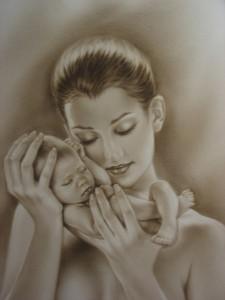 Как правильно держать ребёнка на руках