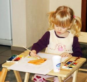 цвет в детском изобразительном творчестве
